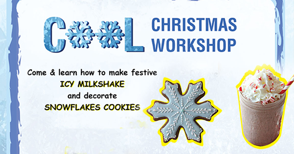 Workshop Christmas นี้ที่ Poptales Ice Cream Factory (ตรงข้ามโลตัสพระราม 4)