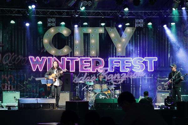 CityWinterFest แฮ้งเอ้าท์ ฟังดนตรีชิลๆส่งท้ายปี