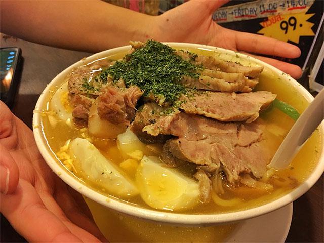 รีวิว The grand ramen umai ร้านอาหารญี่ปุ่นจานยักษ์!! ย่านสุขุมวิท ราเมง